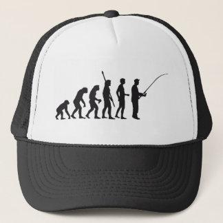 evolution fishing trucker hat
