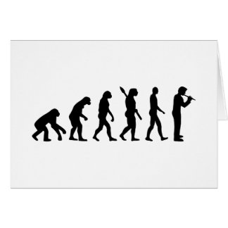 Evolution Flute Card