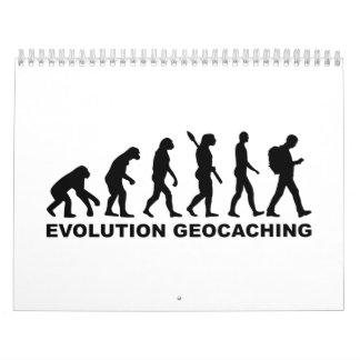 Evolution Geocaching Calendar