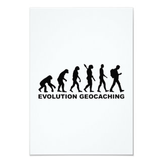 Evolution Geocaching Card