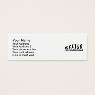 Evolution Geocaching Mini Business Card