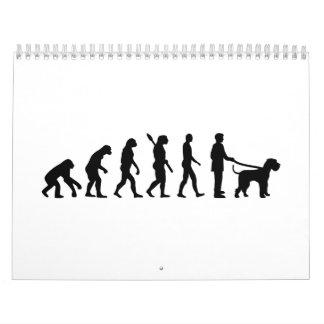 Evolution Giant Schnauzer Calendar