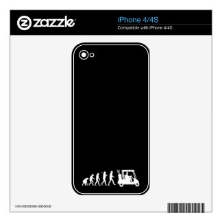evolution golf iPhone 4S decals