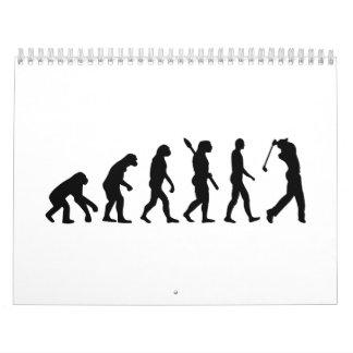 Evolution Golf Player Calendar