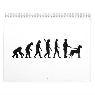 Evolution Great Dane Calendar