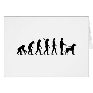 Evolution Great Dane Card