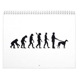 Evolution Greyhound Calendar