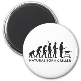 evolution grill 2 inch round magnet