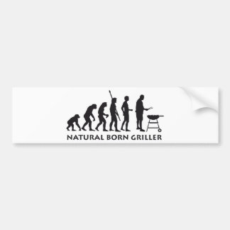 evolution grill bumper sticker