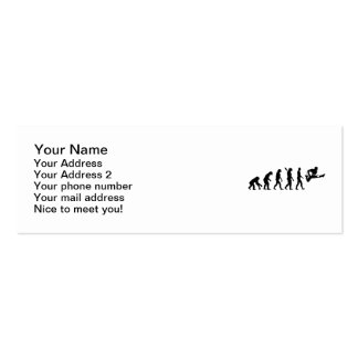 Evolution Guitar Double-Sided Mini Business Cards (Pack Of 20)