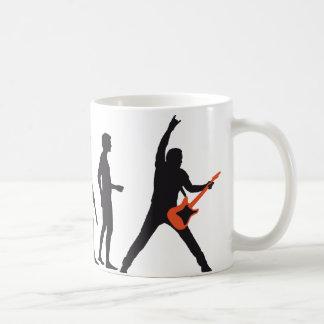 evolution guitar coffee mug