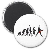 evolution guitar magnet