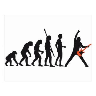 evolution guitar postales