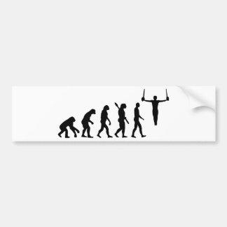 Evolution Gymnastics Bumper Sticker