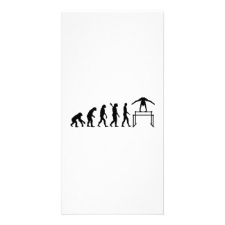 Evolution gymnastics card