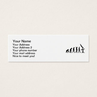 Evolution Gymnastics Mini Business Card