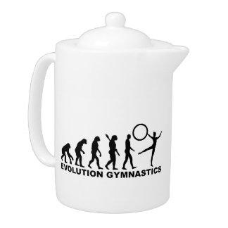 Evolution Gymnastics Teapot