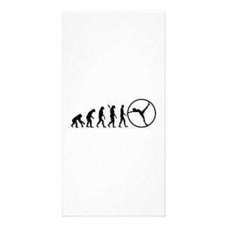 Evolution gymwheel card