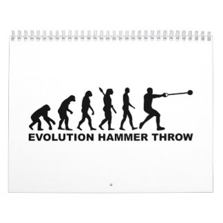 Evolution Hammer throw Calendar