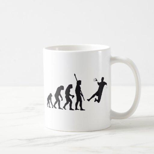 evolution hand ball coffee mug