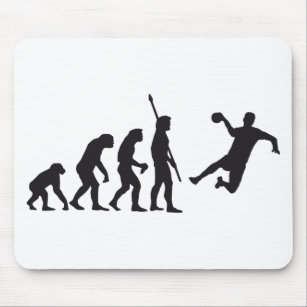 Evolution Hand Ball Mouse Pad