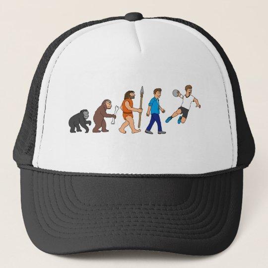 Evolution handball comic styles trucker hat