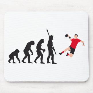 evolution handball mouse pad