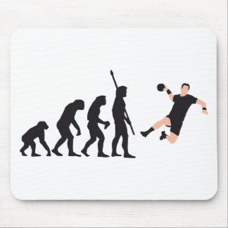 evolution handball mouse pads