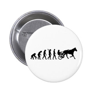 Evolution harness trotting button