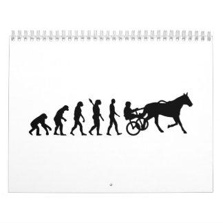Evolution harness trotting calendar