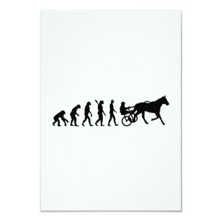 Evolution harness trotting card