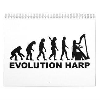 Evolution Harp Calendar