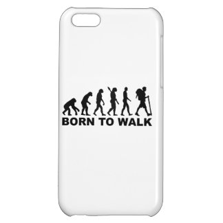 Evolution Hiking born to walk Cover For iPhone 5C