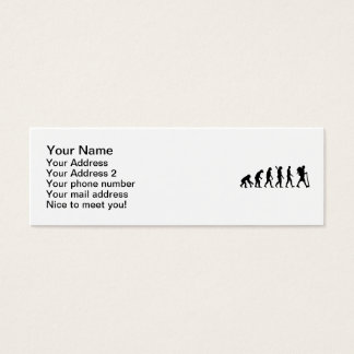Evolution Hiking Mini Business Card