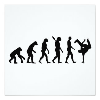 Evolution hip hop card