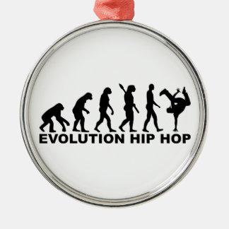 Evolution hip hop metal ornament