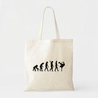 Evolution hip hop tote bag
