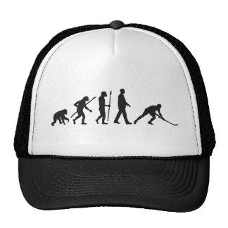 evolution hockey more player trucker hat