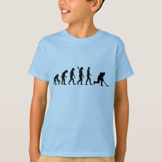 Evolution hockey player T-Shirt