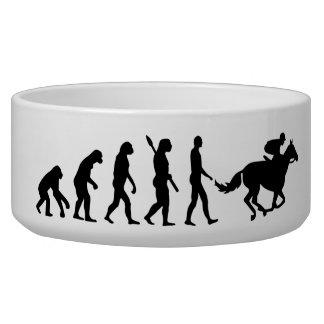 Evolution horse racing bowl