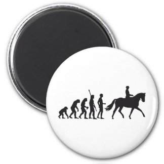 evolution horse riding magnet