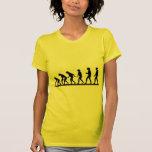 Evolution humor tee shirts