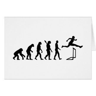 Evolution hurdles athlectics card