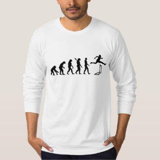 Evolution hurdles athlectics tee shirt