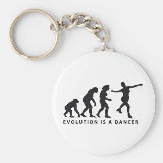 evolution ice dance keychain