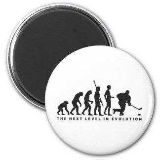 evolution icehockey magnet