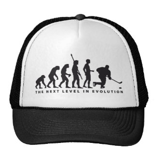 evolution icehockey trucker hat
