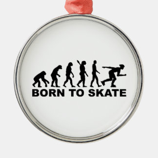 Evolution Inline Skating Christmas Tree Ornaments