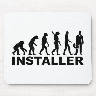 Evolution installer mouse pad