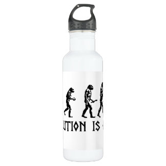 Evolution is Fact Stainless Steel Water Bottle